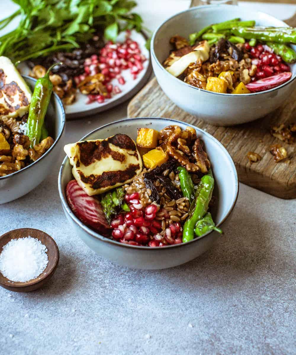 farro bowls
