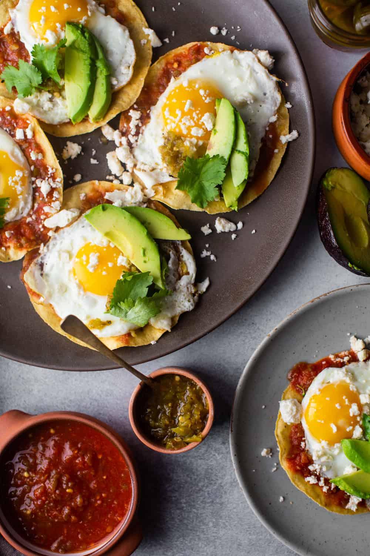 egg tostadas