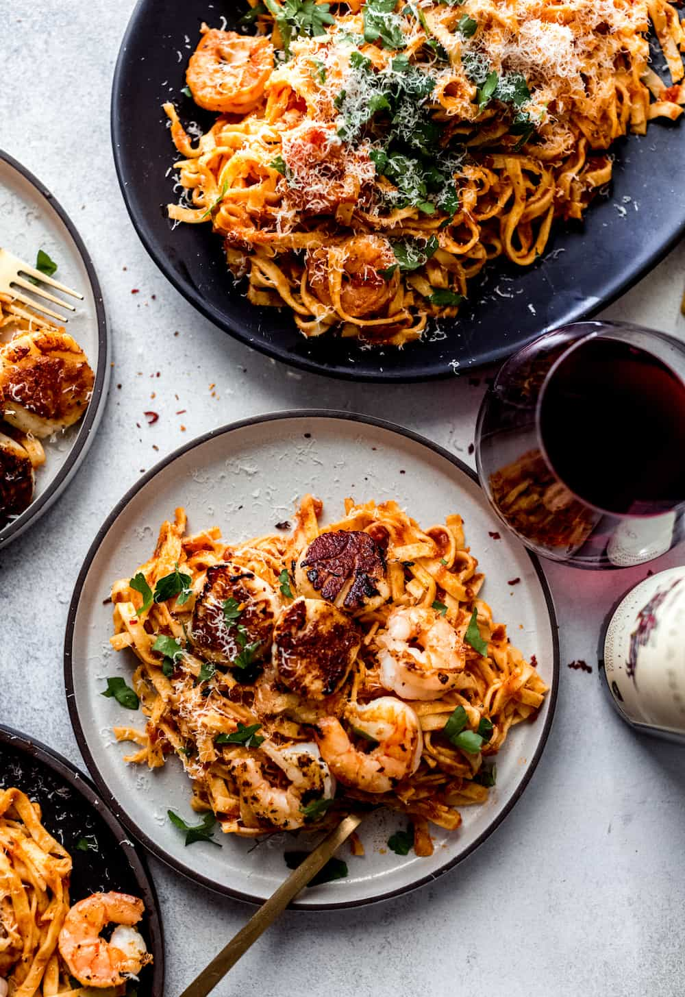 seafood pasta with arrabiata sauce diala's kitchen