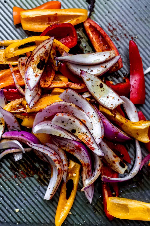 roasted vegetable tartines diala's kitchen
