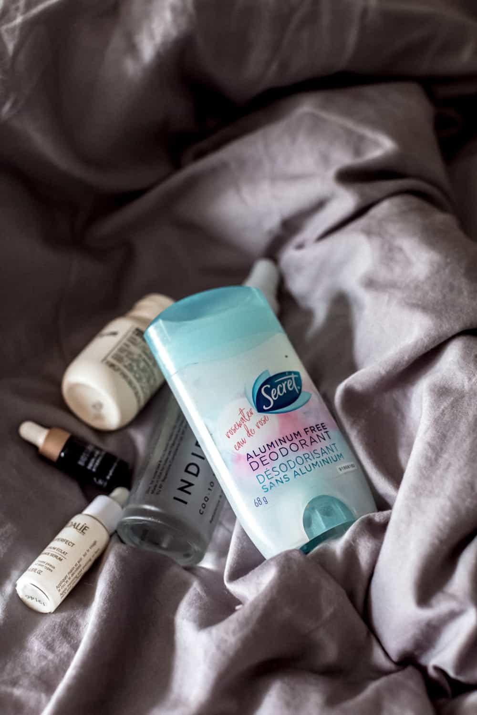 secret aluminum-free deodorant