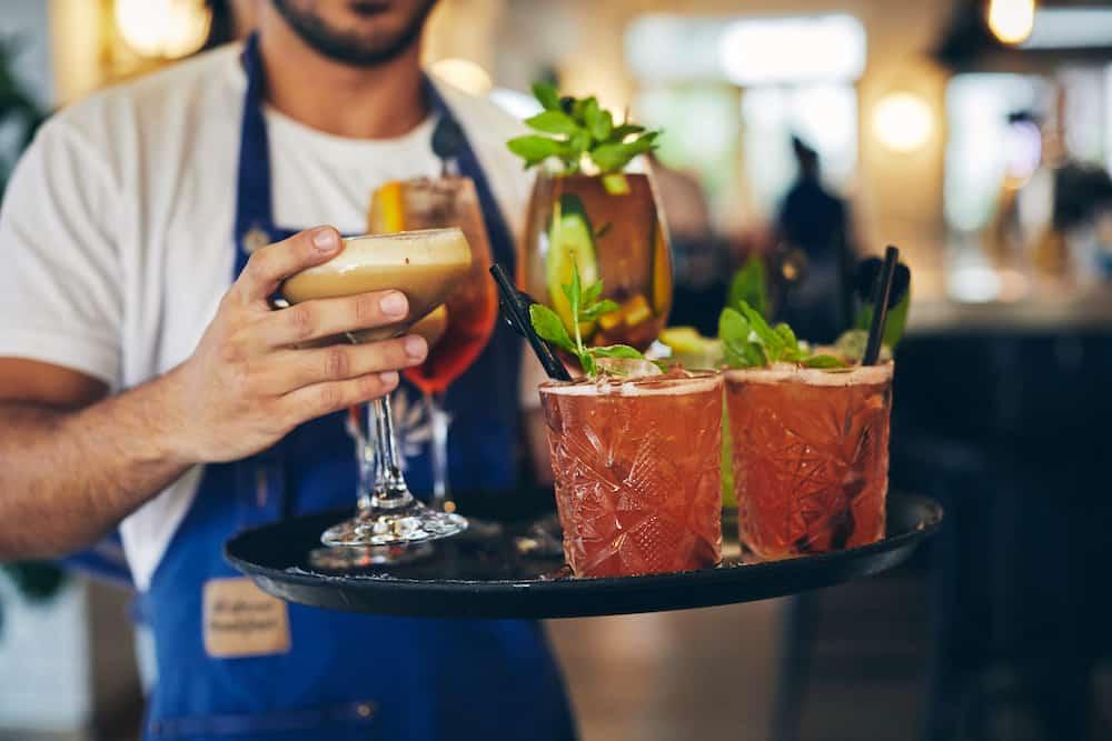 cocktails at benedict restaurant Tel Aviv