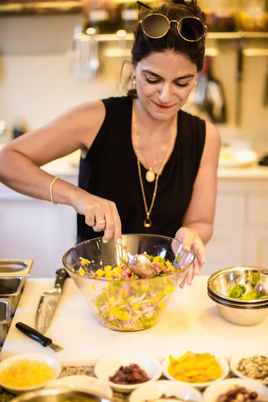 Tali Friedman cooking